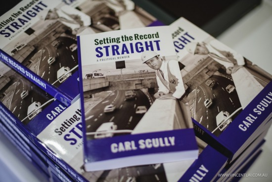 Carl Scully Book Launch